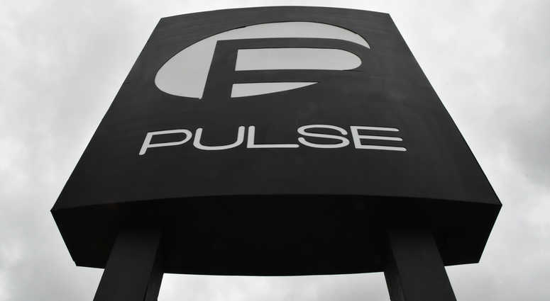 June 4, 2017; Orlando, FL, USA; The main sign in front of the closed Pulse nightclub at 1912 S. Orange Avenue in Orlando the week before the first anniversary of the June 12, 2016 deadliest mass shooting by a single gunman in U.S. history, that took 49 li