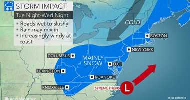 A fourth nor'easter is expected to slam the New York area.
