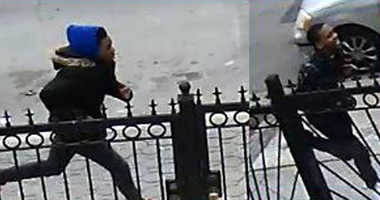 Police are looking for two muggers who jumped an elderly man in Brownsville.