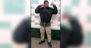 G Train Punching Suspect