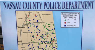 Nassau County Police are turning to a mapping system to aid their fight against drug dealing and overdoses.