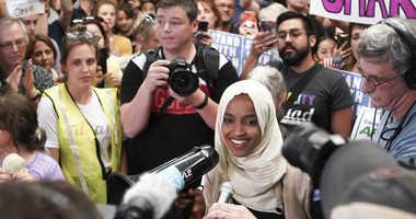 The Latest: Omar says she won't stop criticizing Trump
