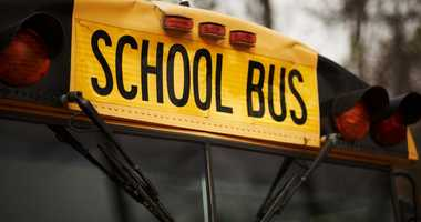 File image of a yellow school bus.