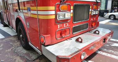 An FDNY truck.