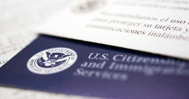 Immigration forms. File Image.