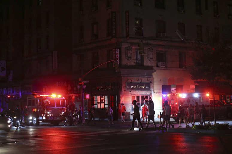 Blackout NYC AP