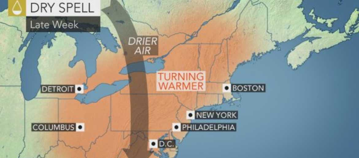 Memorial Day Weekend Weather From 1010 WINS And AccuWeather