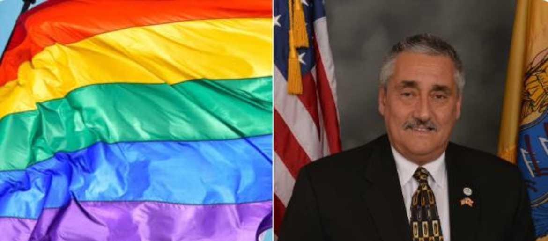 adf000493 NJ mayor lukewarm on raising rainbow flag: If we do it at all, it'll be for  1 week, not all of Pride Month | 1010 WINS