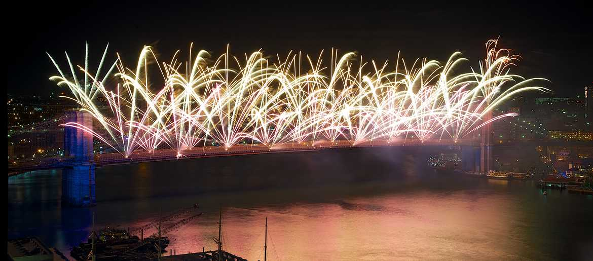 Long Island Fireworks Schedule 2020 Macy's moving 4th of July Fireworks to Brooklyn Bridge, Seaport
