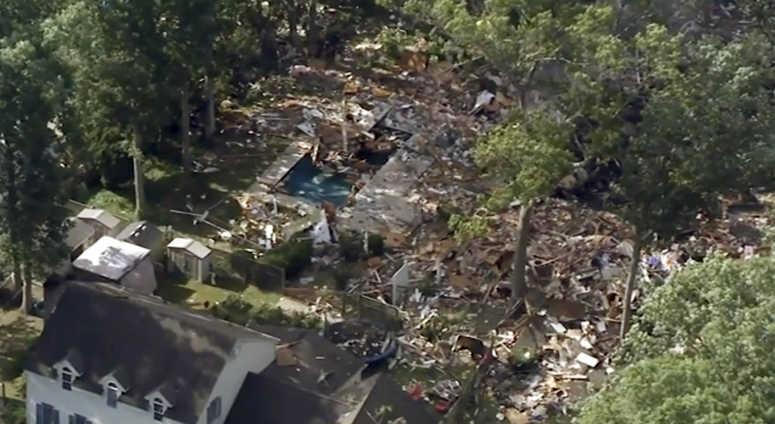 NJ House explosion AP