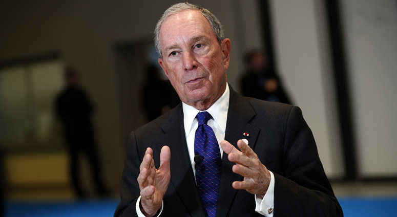 Former New York City Mayor Mike Bloomberg.