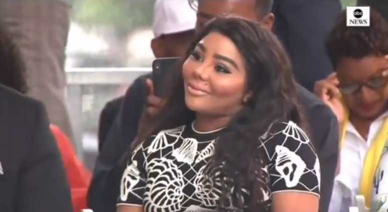 Lil Kim attends ceremony to name Brooklyn street after Notorious