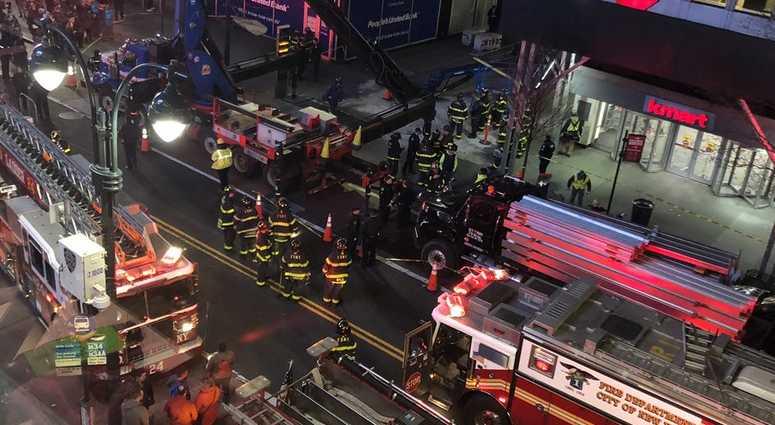 Crane Collapse near Penn Station