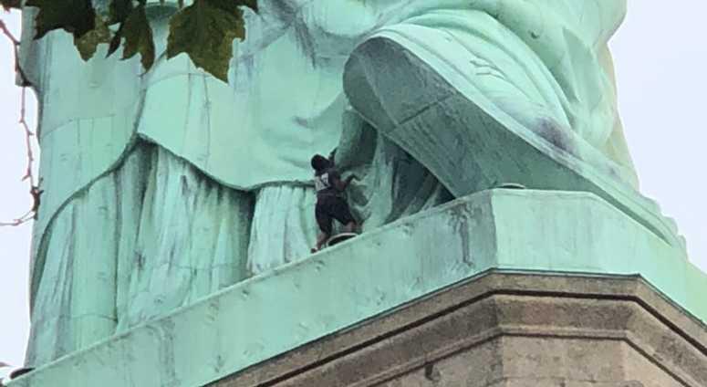Statue Of Liberty Climber
