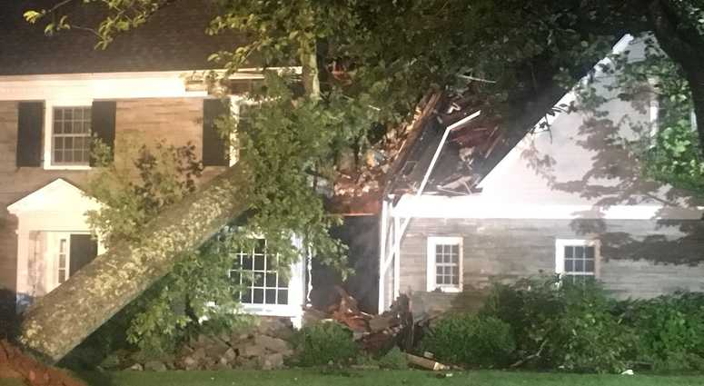 Wild storm brings tornadoes to Long Island, Rockland, and