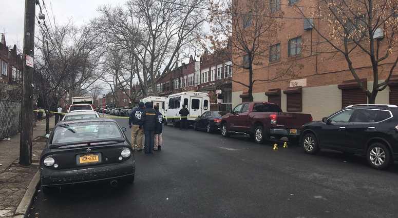 Linden Boulevard where a dead fetus was found