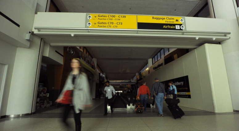 Terminal C at Newark Airport.