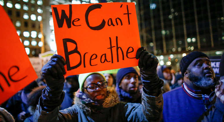 Protest against death of Eric Garner