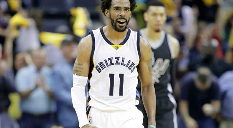 Mike Conley of the Memphis Grizzlies.