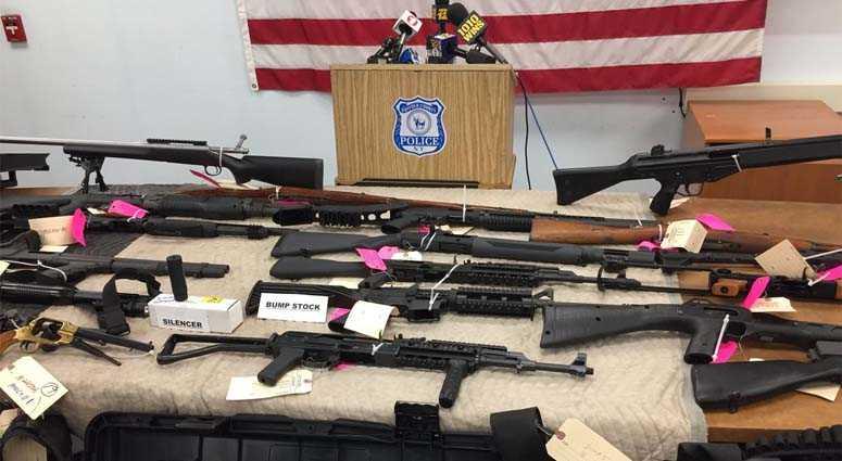 Lindenhurst Weapons Bust