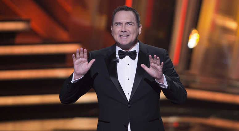 FILE - In this March 13, 2016, file photo, Norm Macdonald begins as host of the Canadian Screen Awards in Toronto.