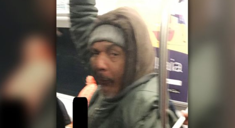Subway grope suspect sought