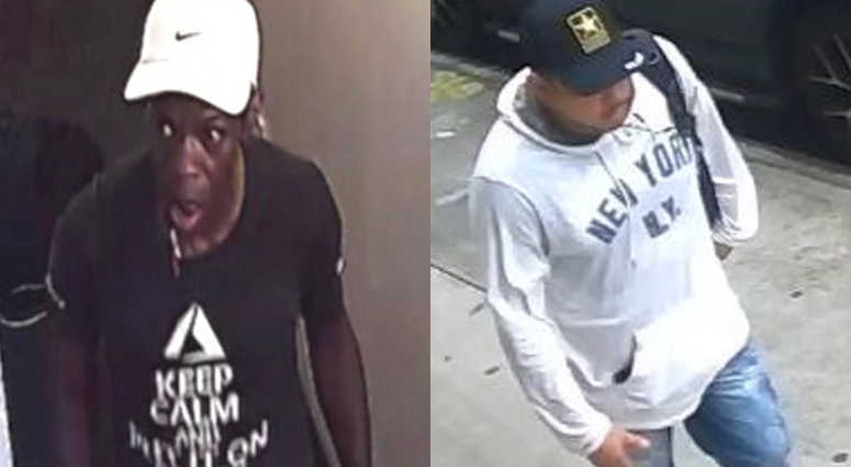 Cops are looking for a pair of serial burglars who are taking Manhattan residents for thousands.
