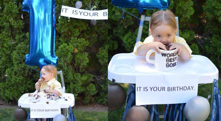 That Baby Is A Schrute Parents Throw The Office Themed Party For 1 Year Old