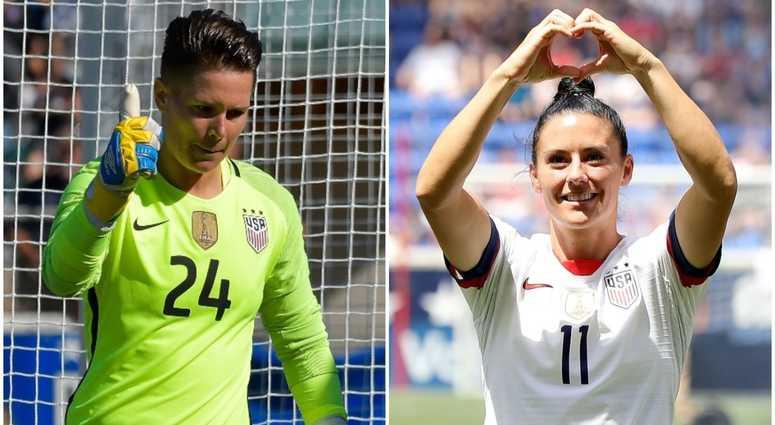 72a650d2b Women's World Cup 2019: Ali Krieger, Ashlyn Harris Are Engaged ...