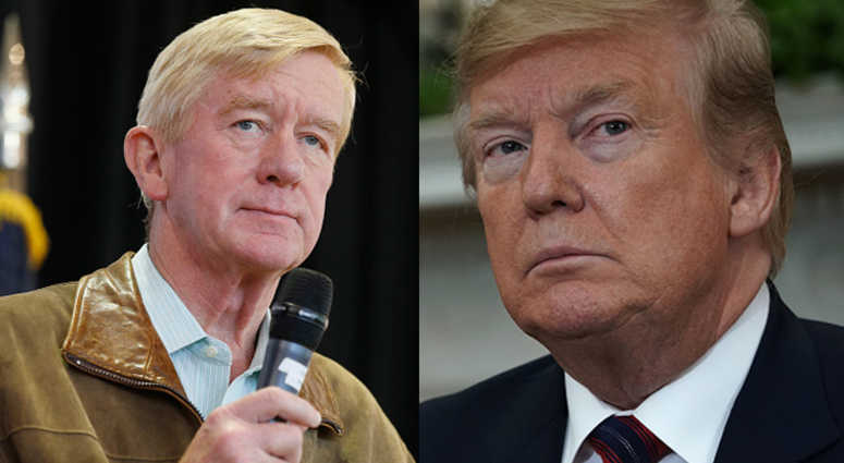 Former Massachusetts Gov. Bill Weld will challenge Donald Trump in the 2020 GOP primary.