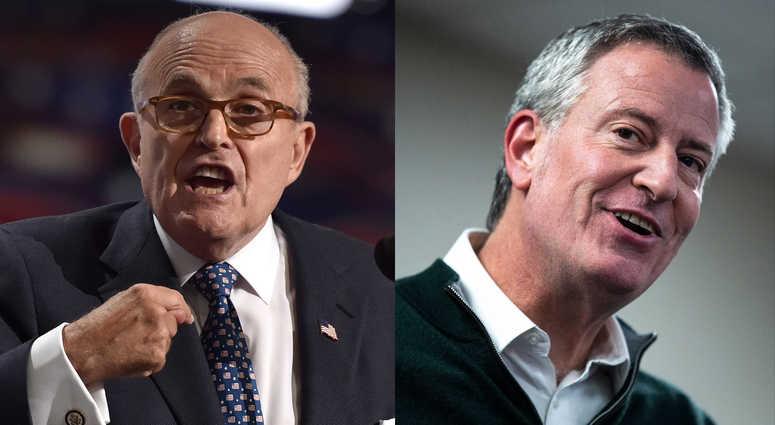 De Blasio Giuliani