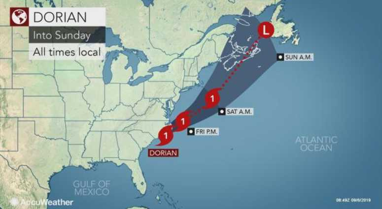 WEATHER: Tropical storm warning issued for Long Island