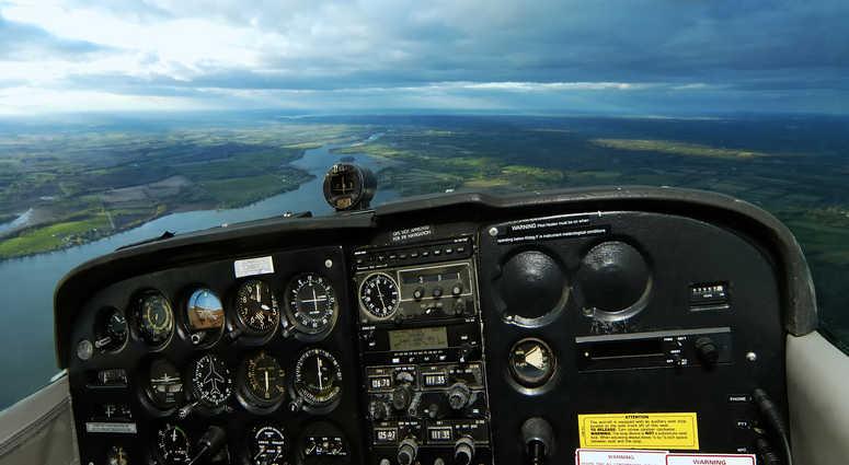 Airplane cockpit file