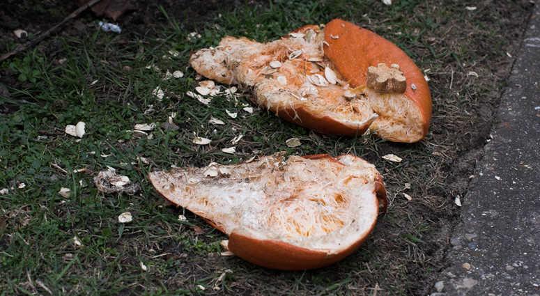 Smashed Pumpkin.