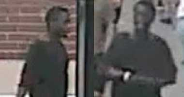 Cops say this guy knocked over an 84-year-old woman and shouted an ethnic slur in Midtown.