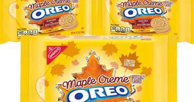But it's not fall yet! 1010 WINS taste-tests the new, limited edition Maple Creme Oreos