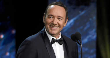 FILE - In this Oct. 27, 2017, file photo, Kevin Spacey presents the award for excellence in television at the BAFTA Los Angeles Britannia Awards