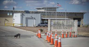 7-year-old girl dies US border