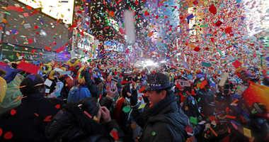 Times Square ball drop 2019