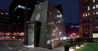The African Burial Ground in lower Manhattan.