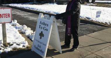 Drive thru ahses at Christ Church Ridgewood