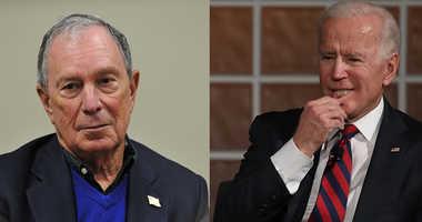 Mike Bloomberg and Joe Biden