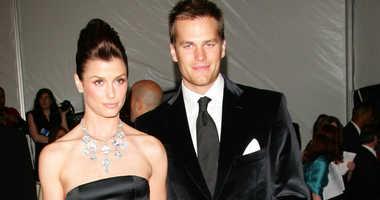 New England Patriots quarterback Tom Brady and Bridget Moynahan at the Met Costume Gala in 2006