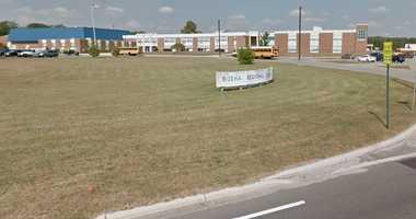 Exterior view of Buena High School.