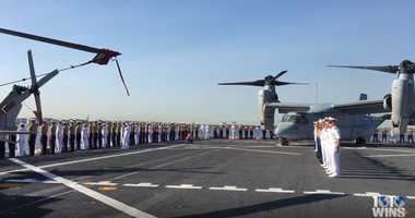 WATCH: 1010 WINS goes aboard the USS New York during Fleet Week