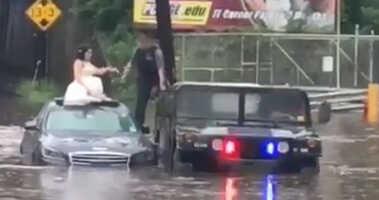 Wedding flood