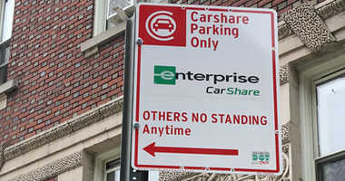 The city rolled out a car share pilot program that's expected to cost New York drivers hundreds of spots.