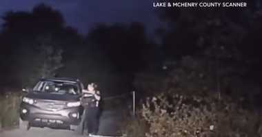 Authorities on Monday released video of the fatal July shooting by police of a Pennsylvania murder suspect in northwest suburban Lakemoor.