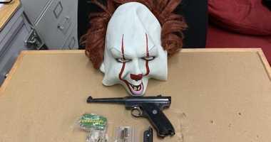 Gun, mask of arrestee at Brooklyn job center