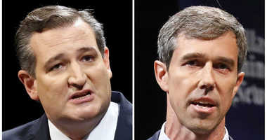 GOP Sen. Ted Cruz, left, and Democratic U.S. Representative Beto O'Rourke.
